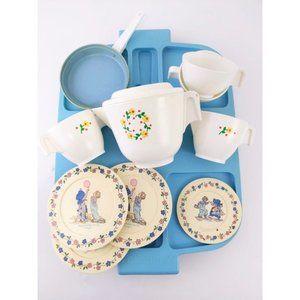 12 Pcs.Vintage 1982 Fisher Price Tea Set